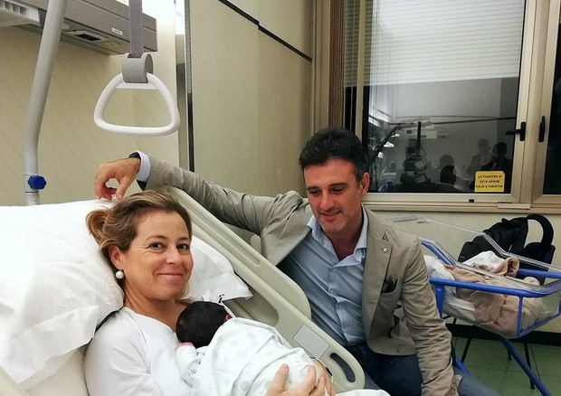 La foto publicada por la ministra Giulia Grillo en su perfil de Facebook © Ansa