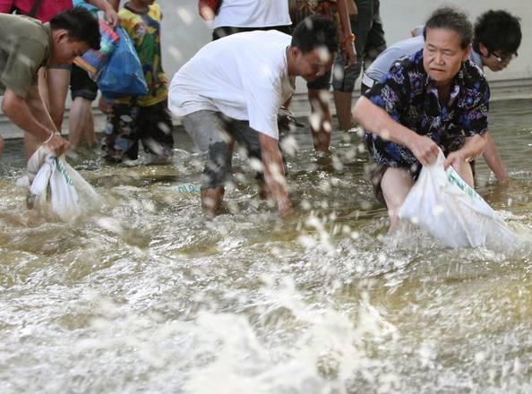 THAILANDIA: INONDAZIONI BANGKOK