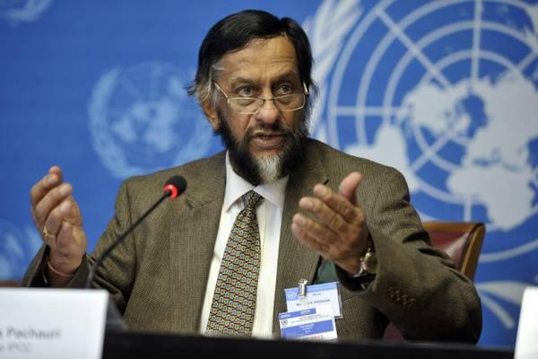 Il presidente del foro scientifico di esperti Ipcc, Rajendra Pachauri