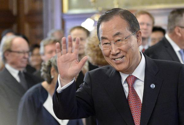 Secretary-General of the United Nations, Ban Ki-moon