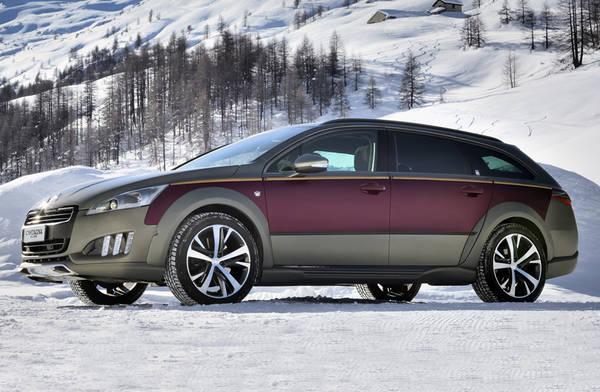 Peugeot 508 RXH 'taylor made' dalla Carrozzeria Castagna