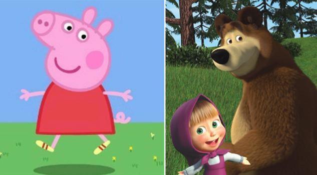 Masha e l'orso contro peppa pig: 2-1