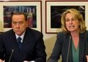 Berlusconi con Stefania Craxi