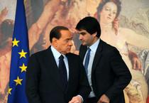 Raffaele Fitto e Silvio Berlusconi (archivio) (ANSA)