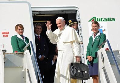 Il Papa parte per Cuba (ANSA)