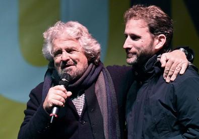 Beppe Grillo (s) e Davide Casaleggio (ANSA)