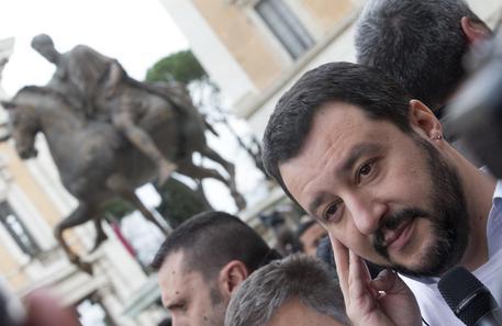 Matteo Salvini a Roma © ANSA