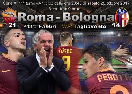 Serie A, Roma-Bologna anticipo di sabato sera © ANSA