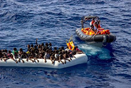 Soccorso ai migranti nel Mediterraneo, FOTO DI ARCHIVIO © AP