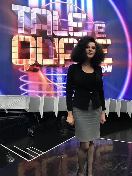 Tale e quale show, Alessandra Drusian vince la puntata nei panni di Antonella Ruggiero © ANSA