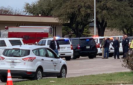 Domenica di sangue, spara e uccide in chiesa Texas © ANSA