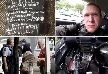 Bildergebnis für Waffen und Ausrüstung des Attentäters von Christchurch