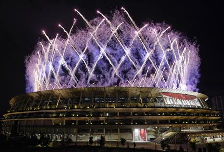La cerimonia di chiusura dei Giochi Paralimpici © EPA