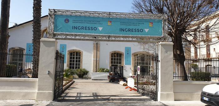 Vaccini: gazebo e posti a sedere, organizzato hub a Siracusa - Sicilia -  ANSA.it