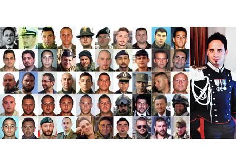 AFGHANISTAN: 51 MILITARI ITALIANI MORTI DAL 2004 -NEW-