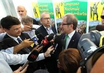 Roberto Maroni al congresso della Lega Nord