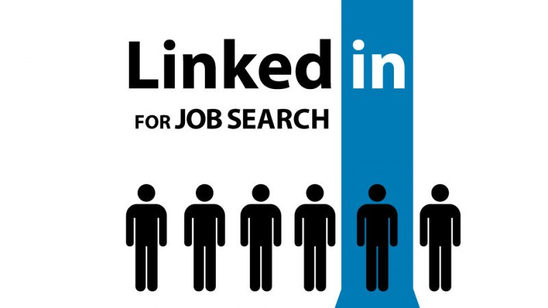 social media for job search