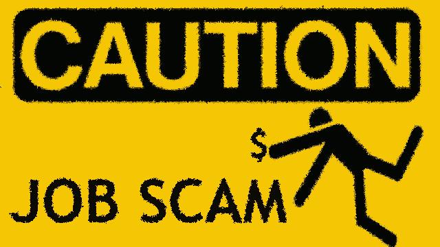 fake jobs