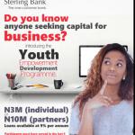 2016 Sterling Bank Youth Entrepreneurship Development Programme (YEDP)
