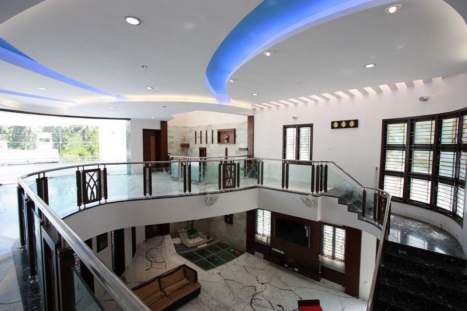 The House Of Curves Thopputhurai Tamilnadu Designed By