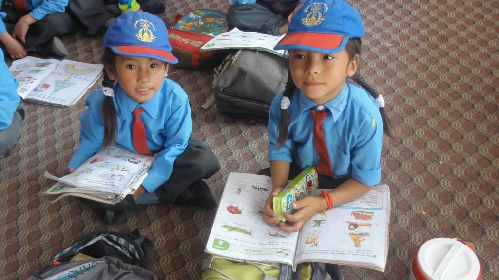 Lamdong School de Khaltsi au Ladakh parrainée par Ansari Cachemire