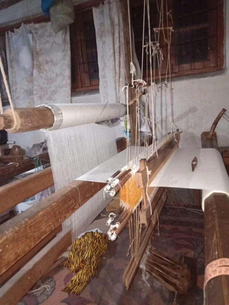 Atelier Pashmina à Srinagar - Vallée du Cachemire