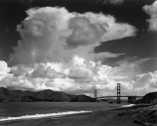 Golden Gate from Baker Beach, 1953