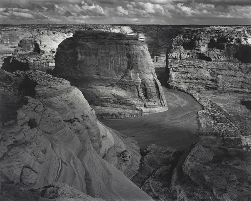 """Ansel Adams, """"Canyon De Chelly,"""" 1937"""