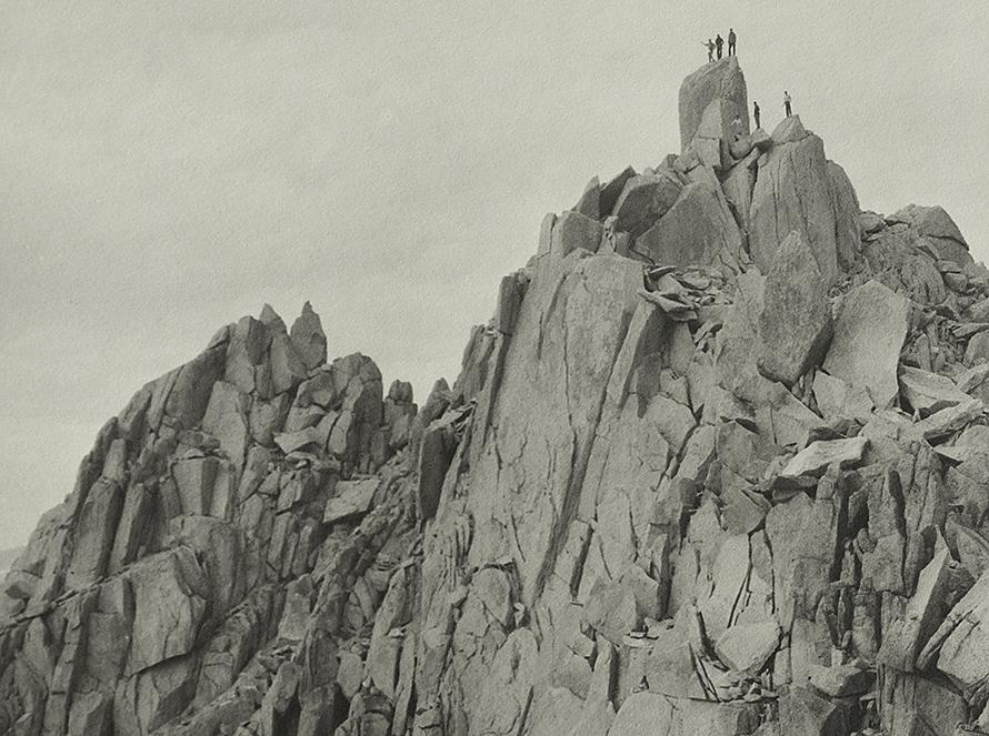"""""""On The Hermit,"""" 1930, Original Photograph by Ansel Adams"""
