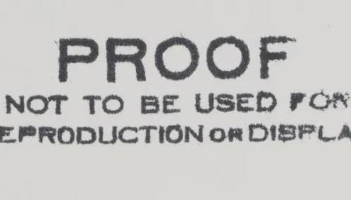 Ansel Adams Proof Print