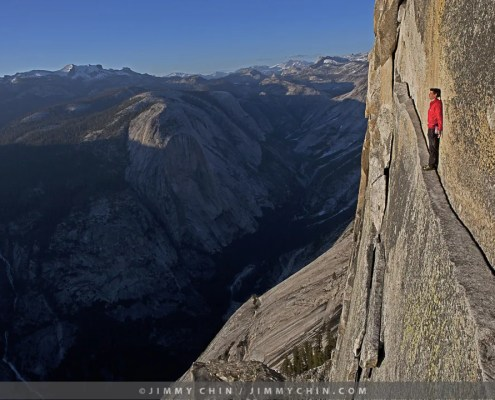 Photograph of Alex Honnold by Jimmy Chin