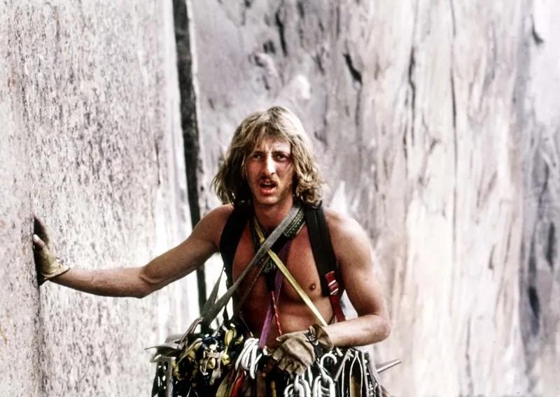 Wener Braun climbing El Capitan, Yosemite