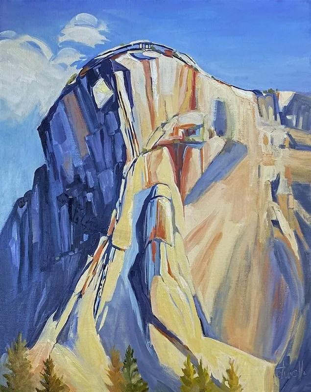 "Penny Otwell, ""Leaning Monolith, El Capitan"""