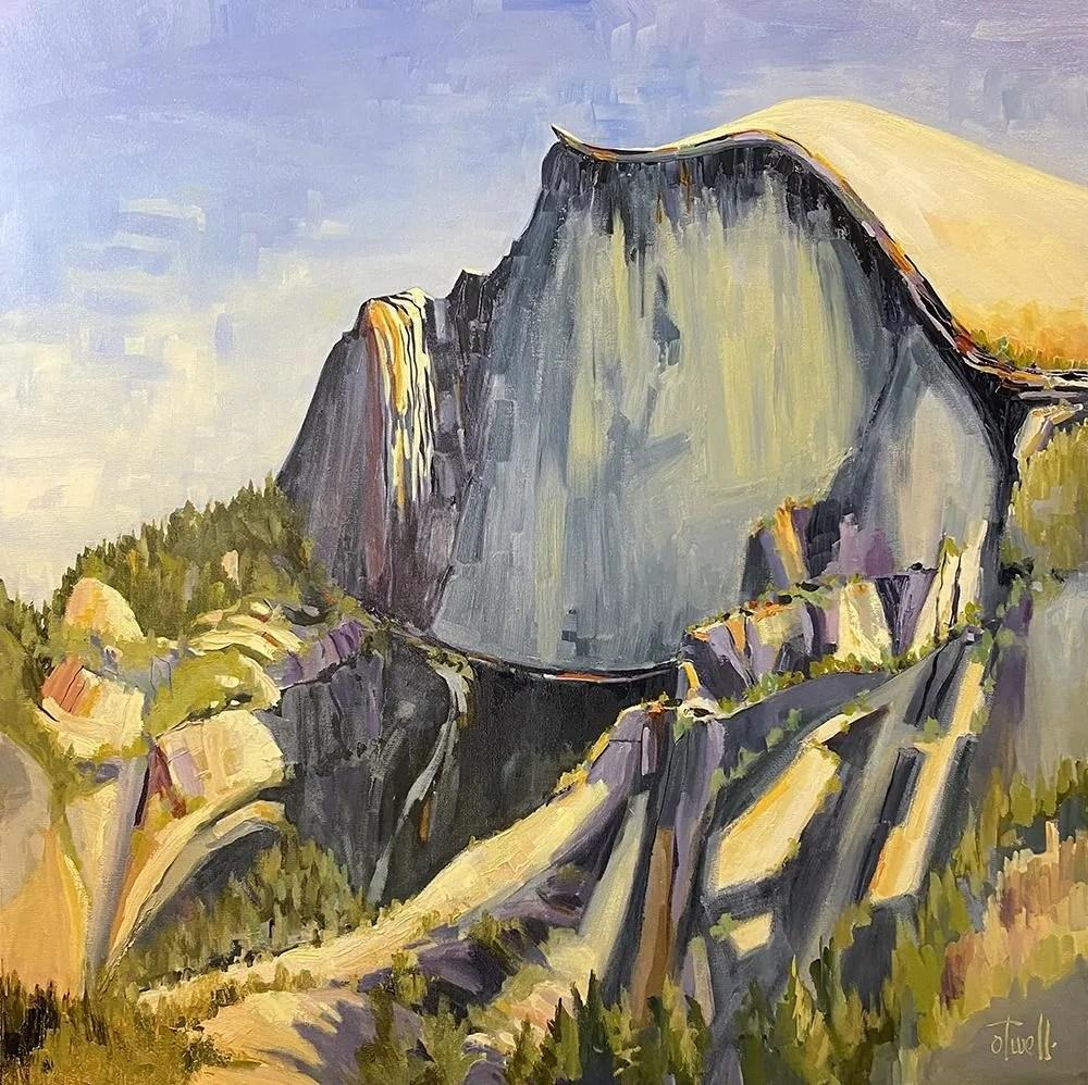 "Penny Otwell, ""Rock Sanctuary, Half Dome"""