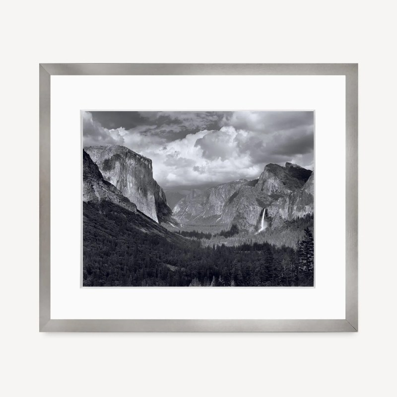 Yosemite Valley, Thunderstorm by Ansel Adams