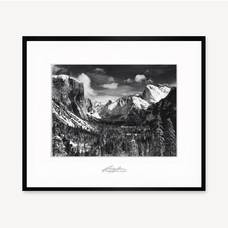 Yosemite Valley Winter, Special Edition Photograph by Ansel Adams