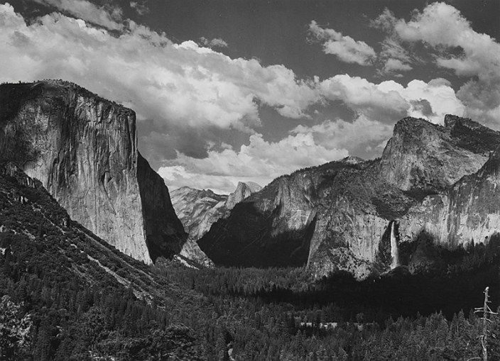 Yosemite Valley, Summer by Ansel Adams