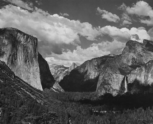 Yosemite Valley, Summer by Ansel Adams