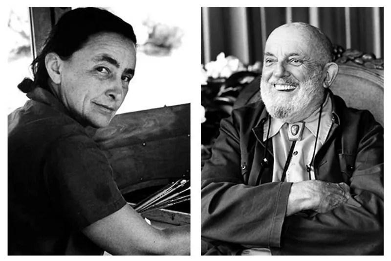 Georgia O'Keefe and Ansel Adams