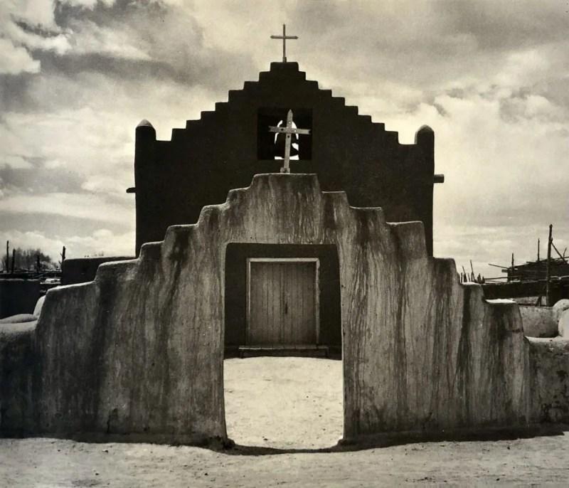 New Church by Ansel Adams