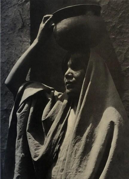 Girl of Taos by Ansel Adams