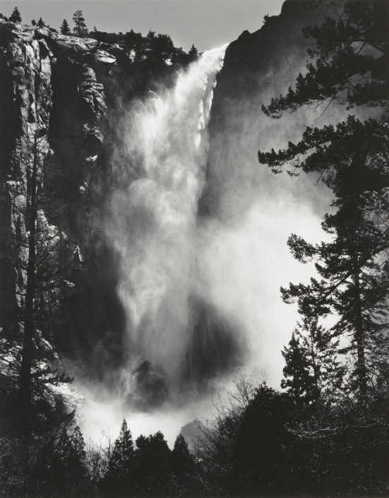 "Ansel Adams, ""Bridalveil Fall"