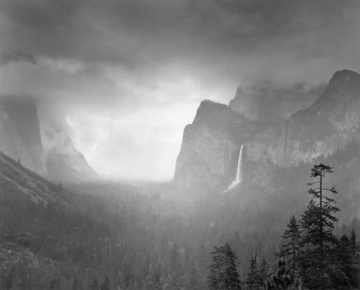 Spring Rain, Yosemite by Alan Ross