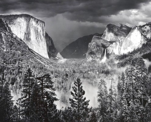 Yosemite Valley, Thunderstorm by Ansel Adams