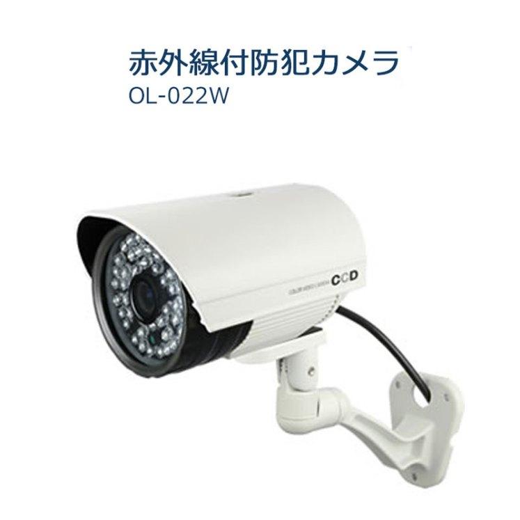 SDカード録画機能搭載 赤外線付防犯カメラ OL-022W