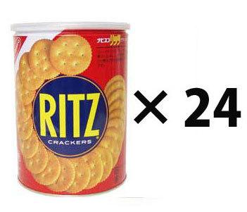 長期5年保存 缶入りリッツクラッカーLサイズ 24個セット