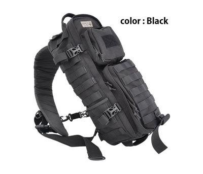 Hazard4 plan-b スリングバック ブラック