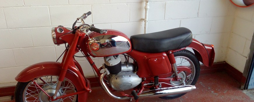 Panther M45 Motorcycle Restorations