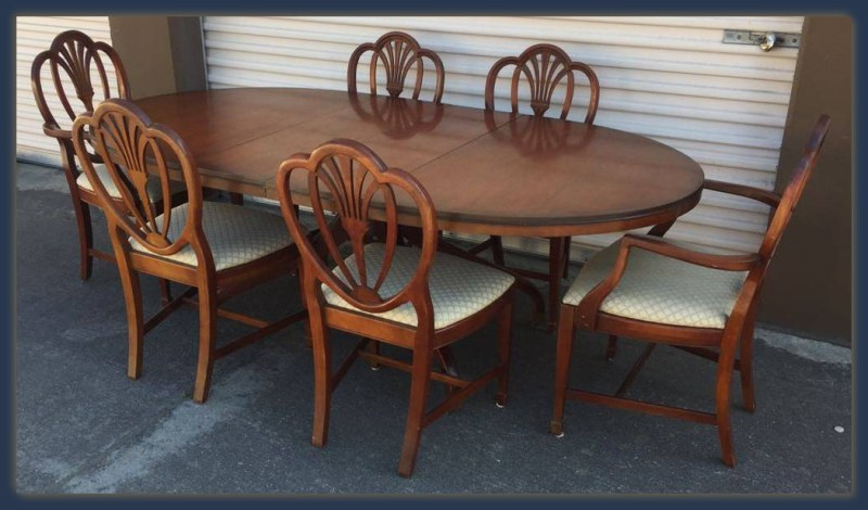 Vintage Dining Set Santa Cruz Drexel Made in USA