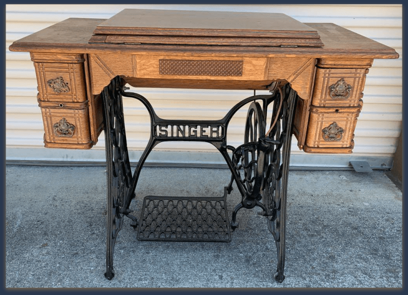 Antique Furniture Sunnyvale Singer Sewing Machine